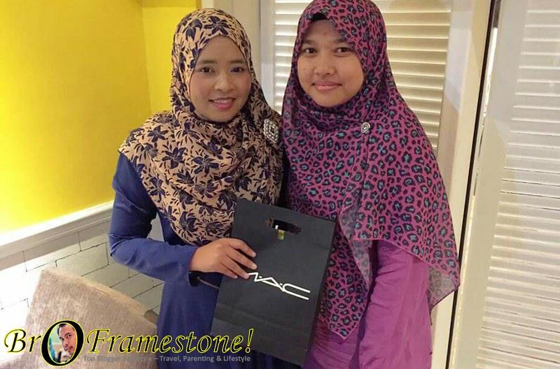 Makan Malam Pengomen Tegar blog Deqnoor di H Gallery Cafe, Sunway Nexis, Kota Damansara
