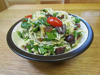 Sicilian-Style Orzo Salad with Walnuts and Raisins