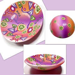 polymer clay Whimsical Jewelry Dish