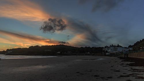 blue sunset sea sun 3 beach st set sunrise canon eos islands coast iii jersey 5d rise channel mk mkiii mk3 2470mm stbrelade canon2470mm28 brelade canon2470mm canon5dmkiii canon2470mm28ii
