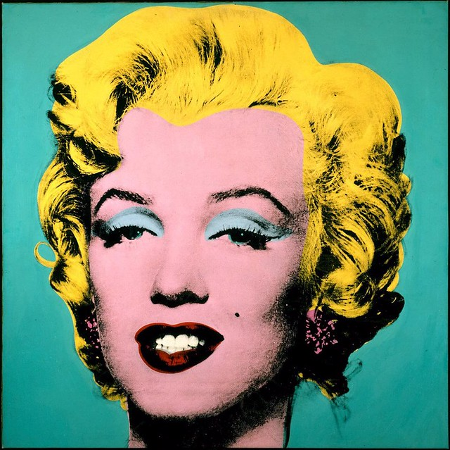 Parte del The Marilyn Diptych (1962) de Andy Warhol
