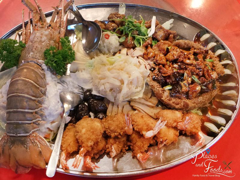 wong sifu pudu plaza lobster platter