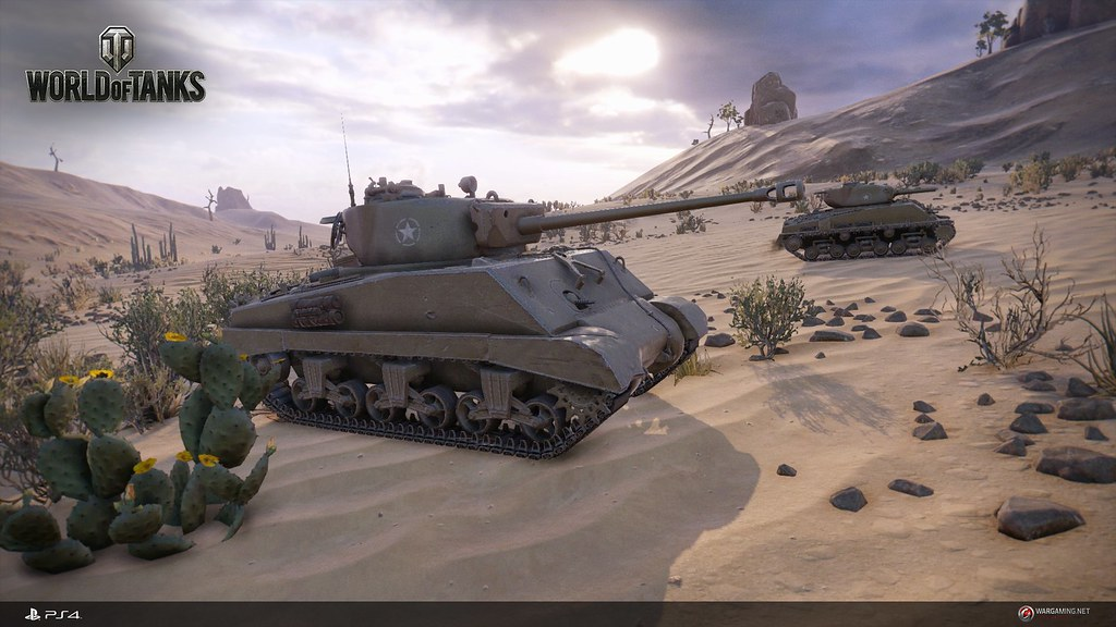 World of Tanks on PS4