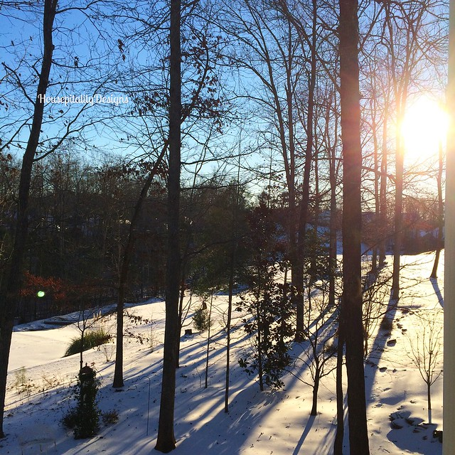Sunrise after Winter Storm - Housepitality Designs
