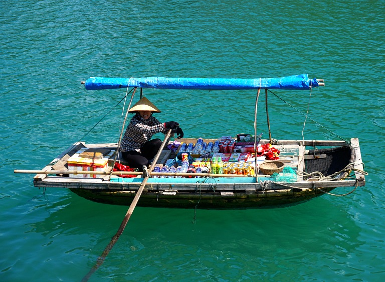 Halong Bay Floating Store