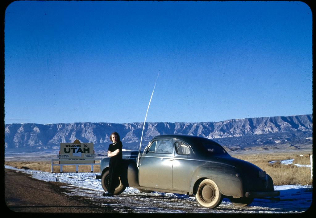Cold Utah Road