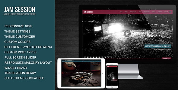 JamSession v4.6.9 - Music & Music Band WordPress Theme