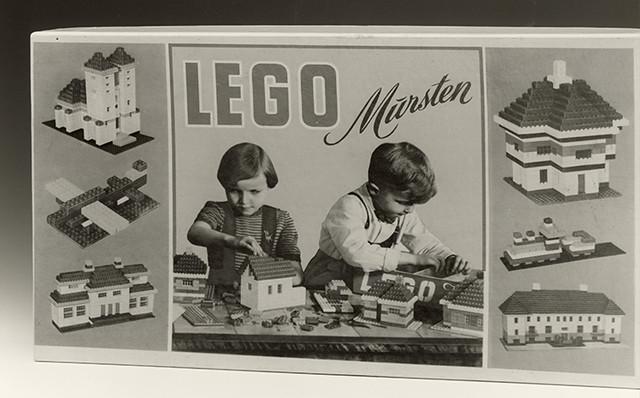 A Lego Mursten set