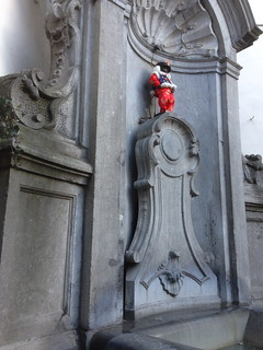 The real Mannekin Pis