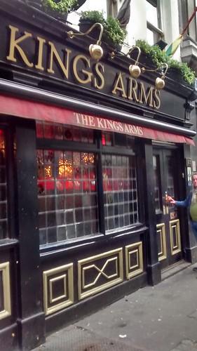 Kings Arms Soho Dec 15