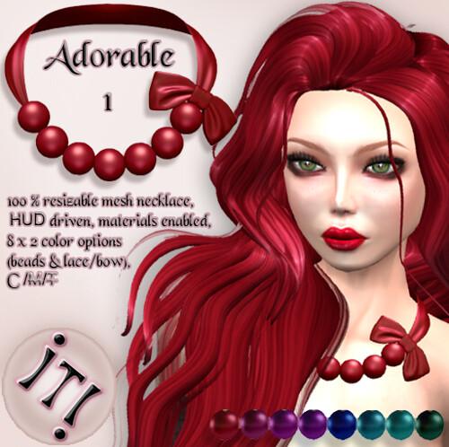 !IT! - Adorable Necklace 1 Image