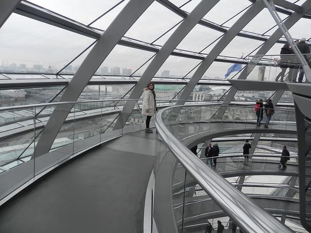 Visita ao Reichstag, Berlim