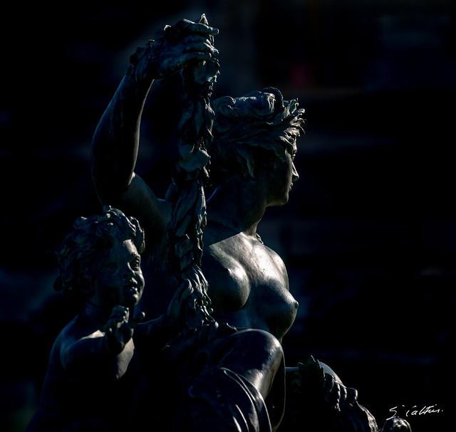 Versailles 11/23 - Statue