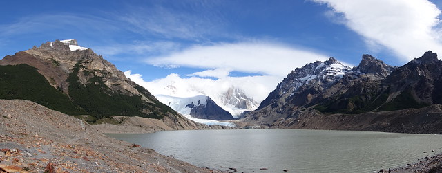 Lago Torre and Glaciar Torre