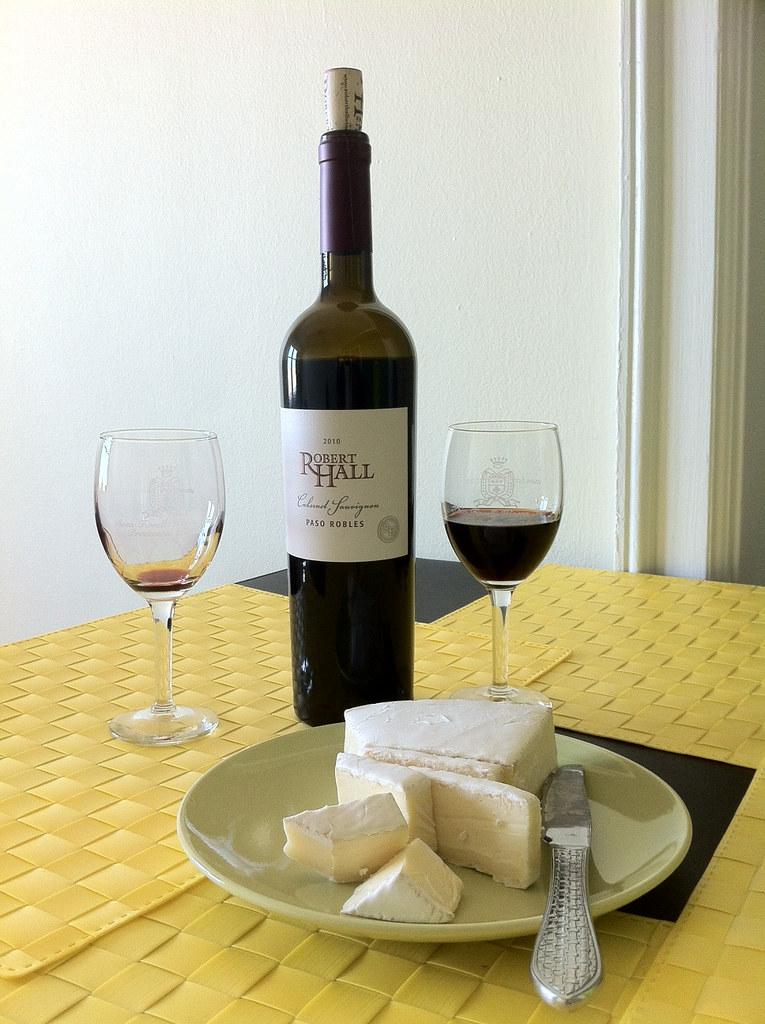 Cabernet Sauvignon and Brie 1