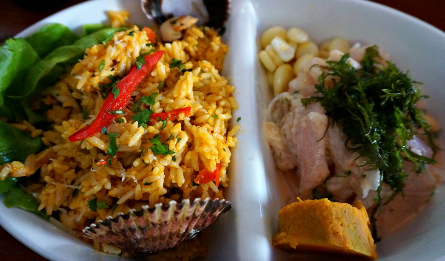 Seafood Rice & Ceviche