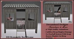 DD Romantic Bed House Vendor