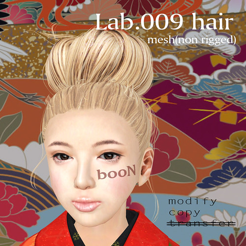 booN Lab.009 hair