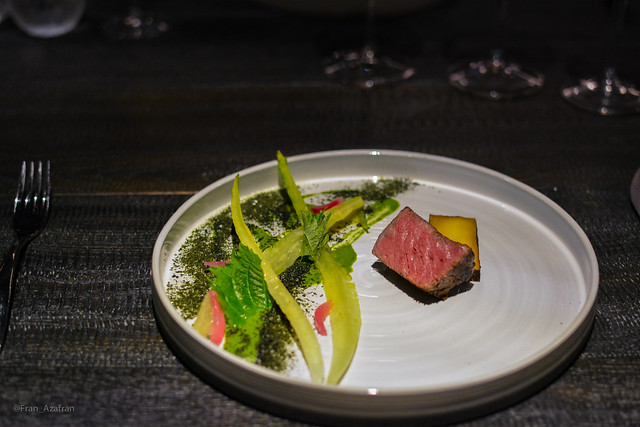 Wagyu: Potato, onion, lettuces