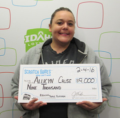 Allicyn Cruse - $9,000 $300,000 Triple Platinum