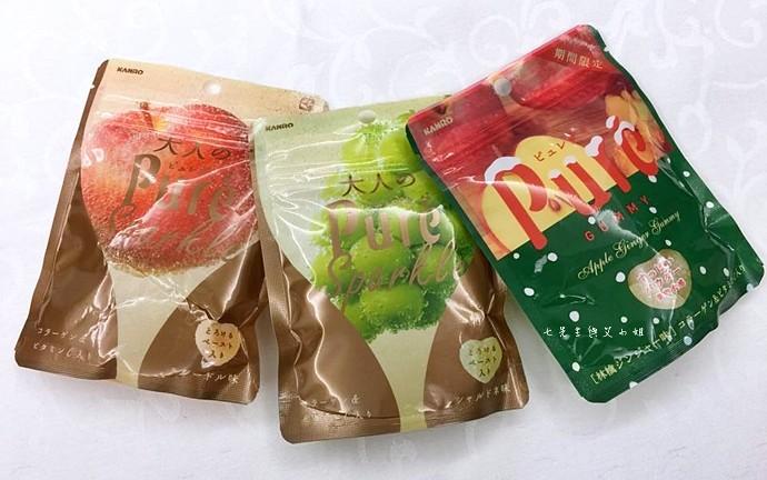 21 日本人氣軟糖推薦 UHA味覺糖 KORORO pure 甘樂鮮果實軟糖