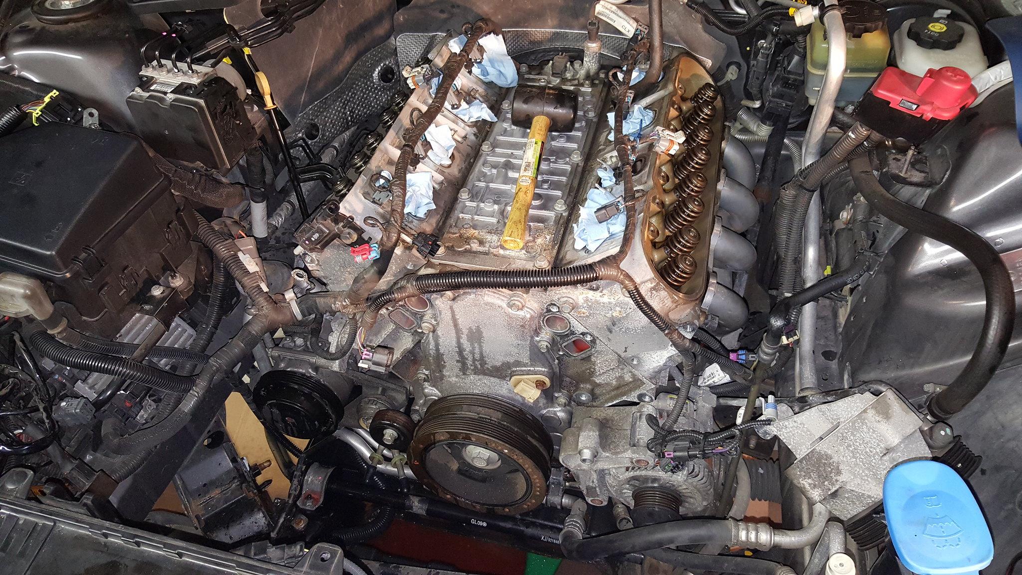 My RCR Cam Install 219/223  612/ 615 112+1   Pontiac G8 Forum
