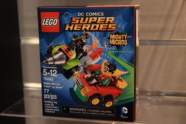 LEGO Mighty Micros 76062 Robin vs. Bane 1