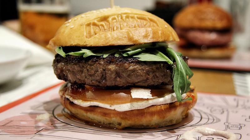 Jamburguesa de ternera macerada