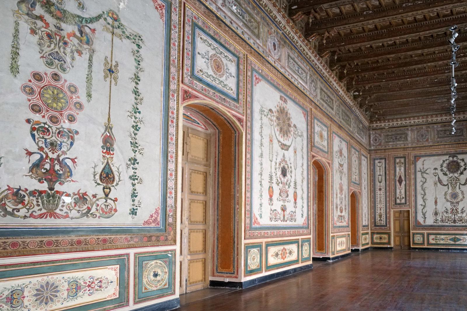 Le grand salon de l'Auberge de Provence (La Valette, Malte)