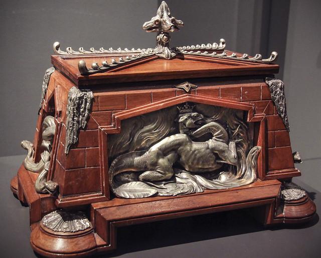 Cigar chest, France, 1867-75