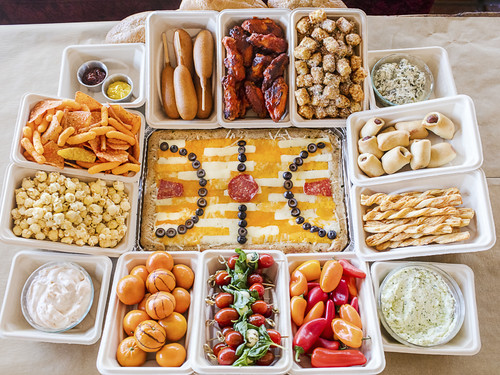 JACKIE ALPERS FOOD PHOTOGRAPHY: Basketball Snack Stadium
