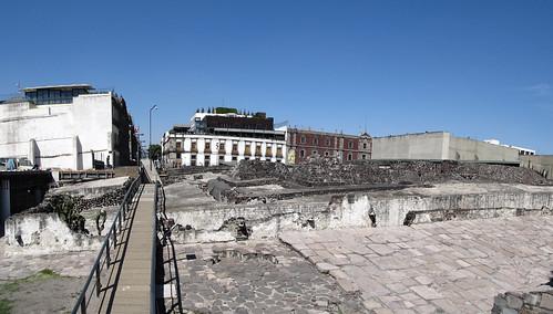 Mexico City: le Templo Mayor, les ruines d'un temple maya en plein coeur de la capitale