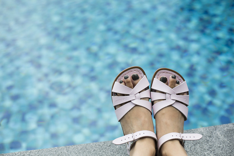 Saltwater sandals