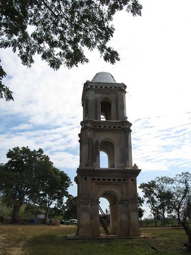 La Valle de los Ingenios: la tour servant à surveiller les esclaves dans les champs de canne à sucre