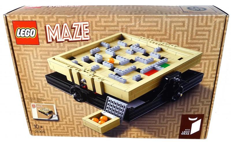 LEGO 21305 Ideas - Maze (Box - Front)