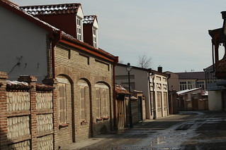 The recently renovated Cholokashvili Street