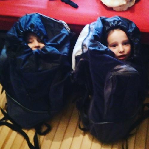 Klaar om op scoutskamp te vertrekken! #sien90210 #janne1709 #fosdereiger