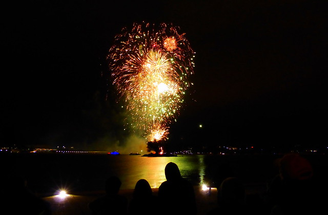 Fireworks on Lake Burley Griffin