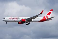Air Canada Rouge Boeing 767-300ER C-GHLU