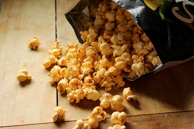 Product Review & Live Taste Test SmartFood's Jalapeño & Cheddar Popcorn