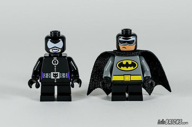 REVIEW LEGO 76061 Mighty Micros Batman vs Catwoman (HelloBricks)