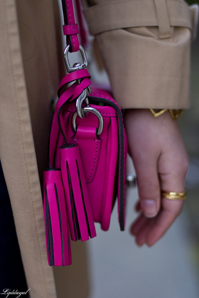 green equipment blouse, london fog trench, pink coach bag-7.jpg