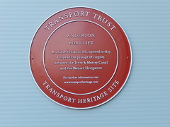 Photo of Anderton Boat Lift red plaque