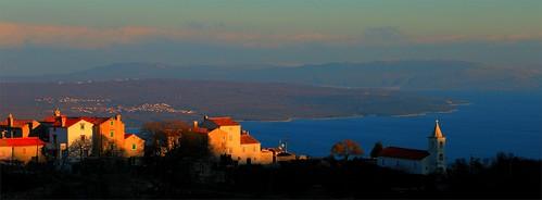 landscape island croatia hrvatska cres predošćica