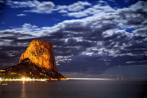 valencia spain espanha mediterranean espana alicante moonlight espagne valence spania calpe alacant calp