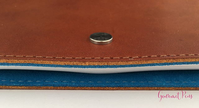 Review @WilliamHannahUK Whiskey & Kingfisher Leather Notebook (31)