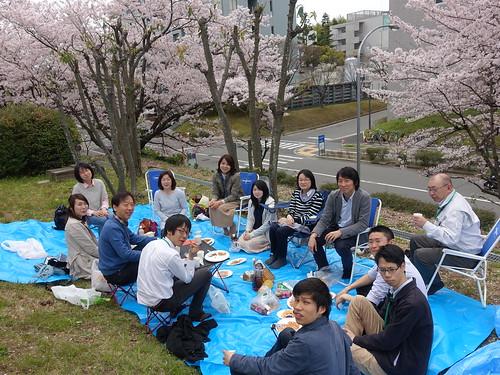 2016年4月5日 歓迎会・お花見