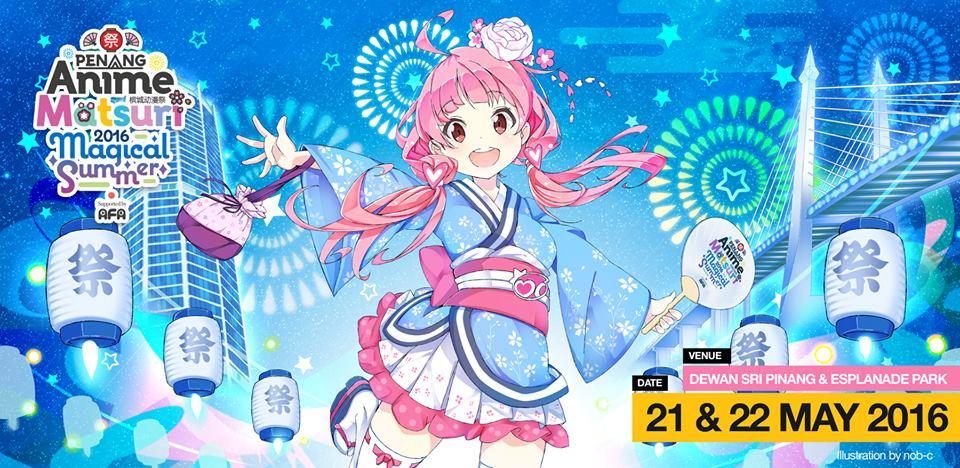 Penang Anime Matsuri 2016 Creator's Hub Applications Now Open
