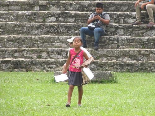 Palenque: une (trop) jeune vendeuse