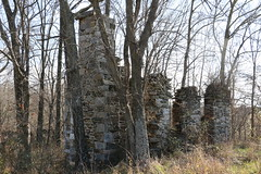 Miller's House (ruins) at Potts-Neer Mill, aka Burnt Mill, Hillsboro, VA